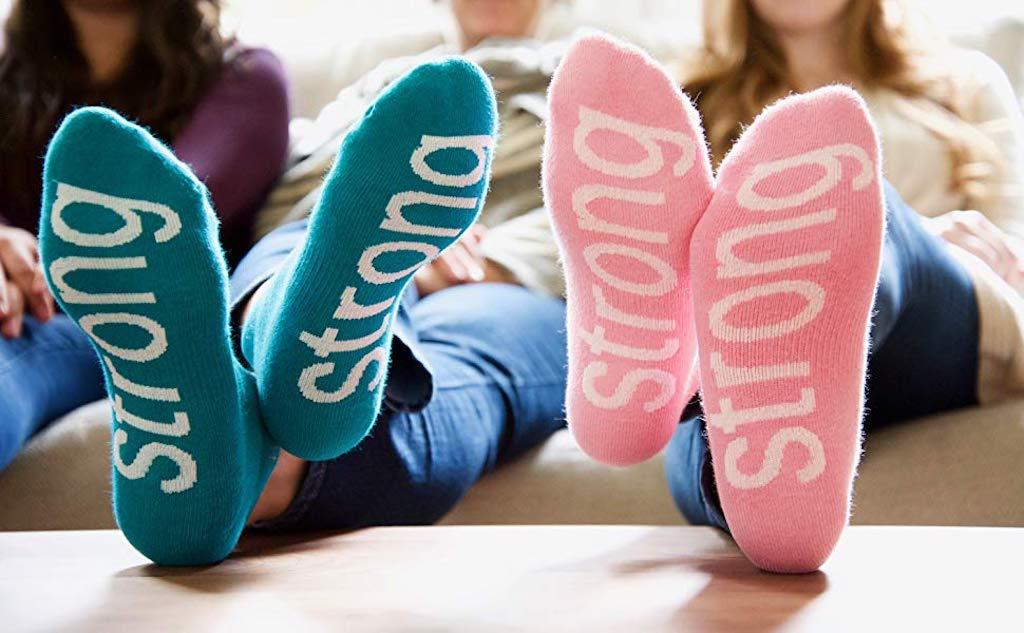 women wearing strong socks