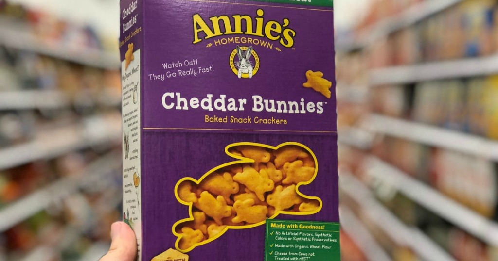 annie's cheddar bunnies at target