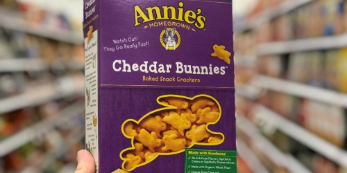 Annie's Cheddar Bunnies Crackers Only $1.49 Shipped on Amazon