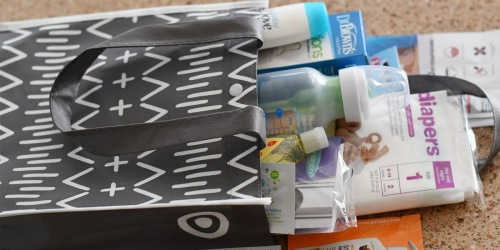 Free $80 Target Baby Registry Gift Bag Filled with Goodies
