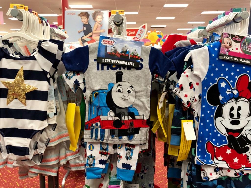 target thomas sleepwear