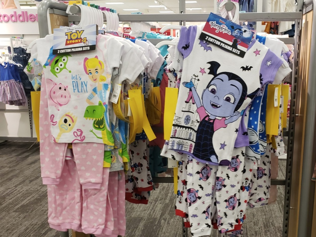 target toddler girls pajamas