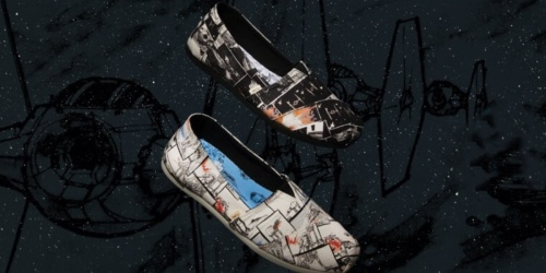 TOMS Just Lauched NEW Star Wars Shoe Collection (And You Can Get $10 Off)
