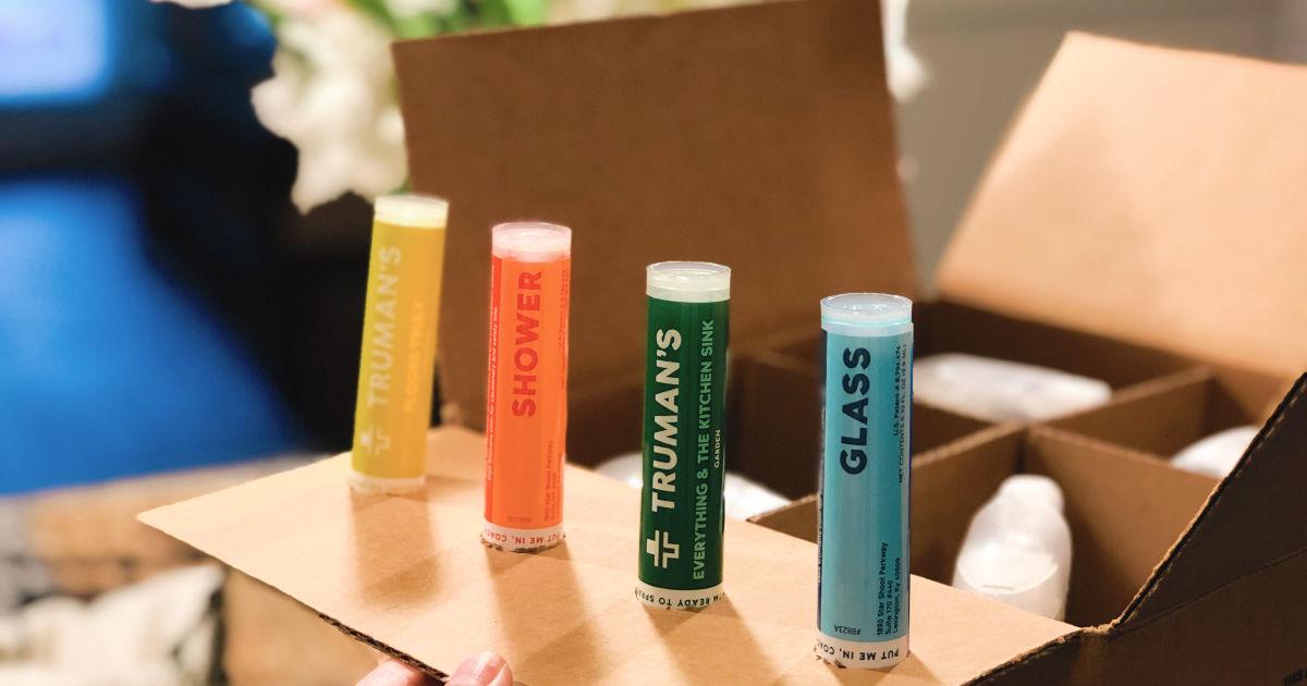 truman refill cartridges on box