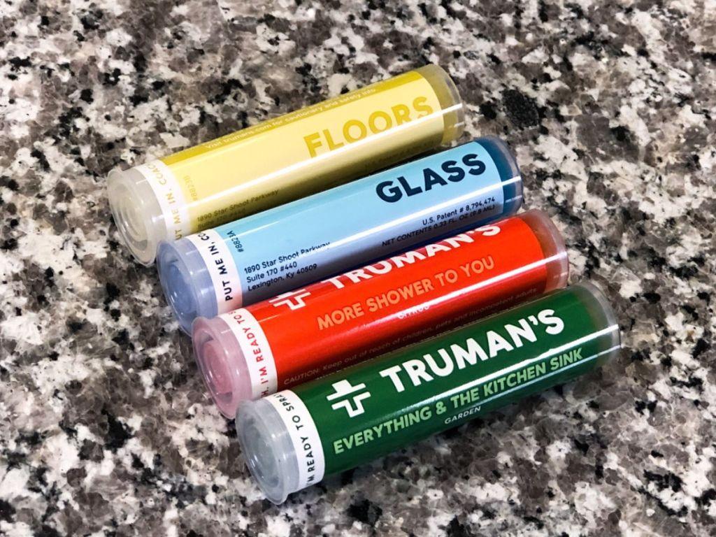 Truman's floors, glass, kitchen, and bathroom cartridge refills