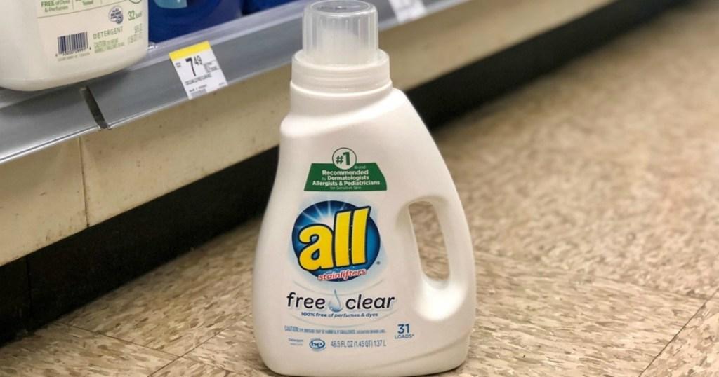 all liquid laundry detergent at walgreens