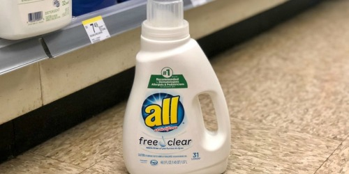All Laundry Detergent Only $1.99 Shipped on Walgreens.com