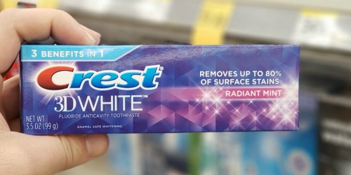 FREE Crest Toothpastes & Oral B Toothbrush After Walgreens Rewards