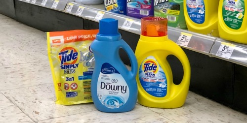 Tide Simply Clean & All Laundry Detergents Only $1.99 at Walgreens | In-Store & Online