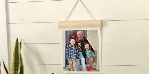 75% Off Wood Hanger Board Photo Prints + Free Walgreens Store Pickup