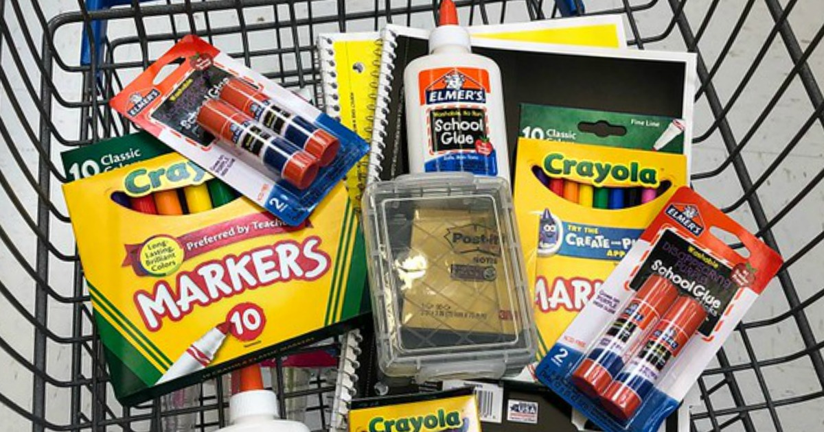 Walmart School Supply Deals Starting at Only 25¢