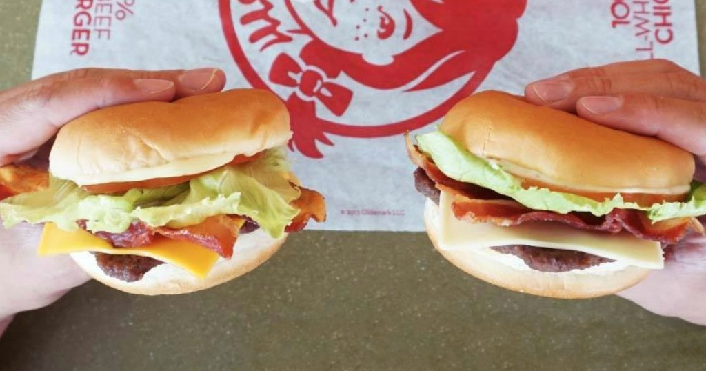 wendy's Jr. Bacon Cheeseburger