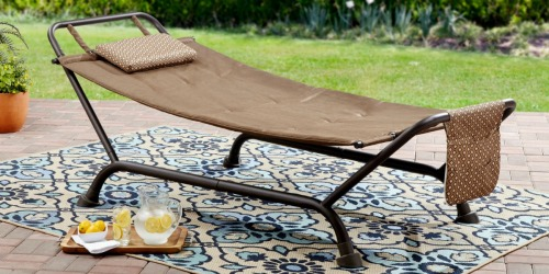 Mainstays Deluxe Hammock w/ Stand Just $44.97 Shipped (Regularly $79)