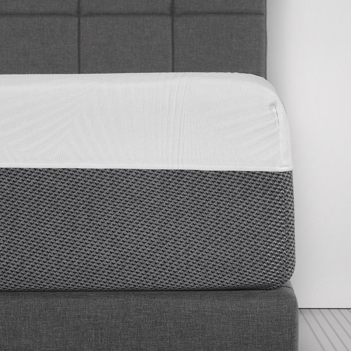 "Spa Sensation 12"" mattress shown close up"