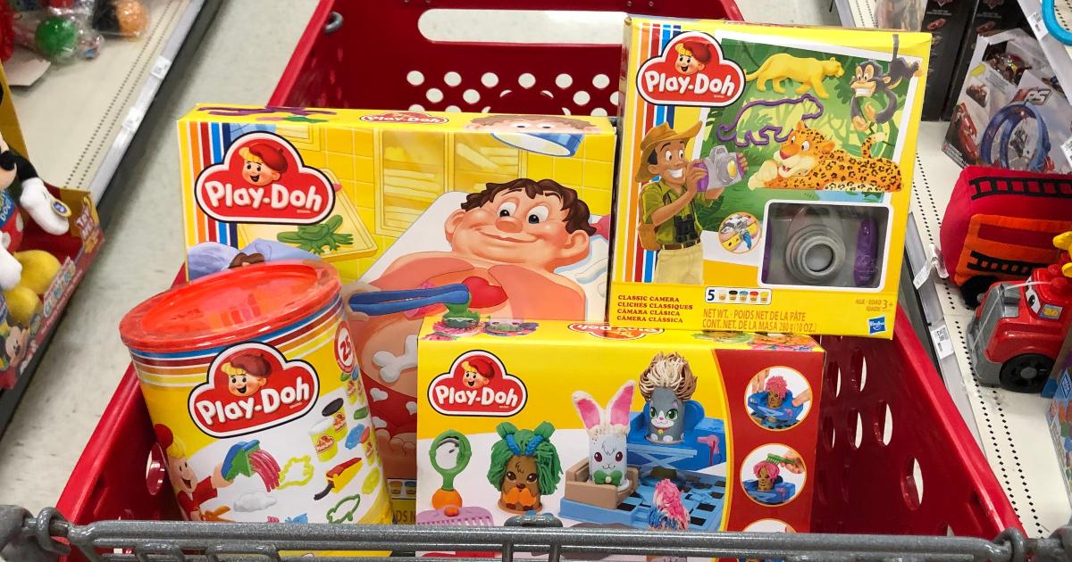 Retro Play-Doh in Target Cart