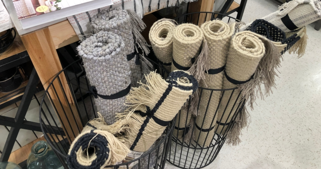 Hearth & Hand accent rugs