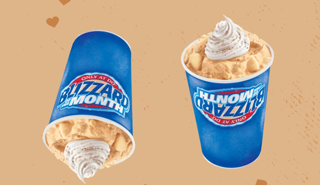 Pumpkin Pie Blizzards