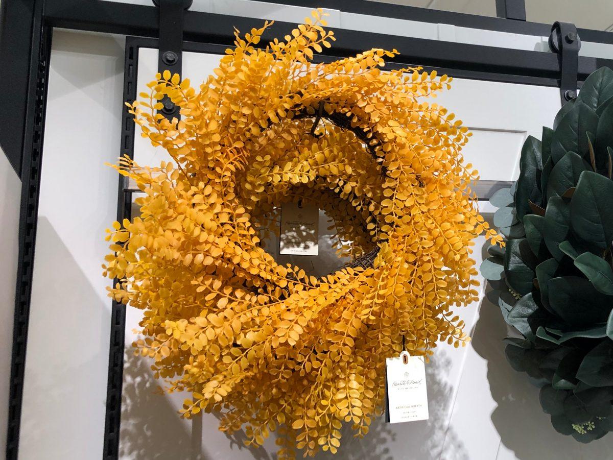 Hearth & Hand Yellow Locust Wreath
