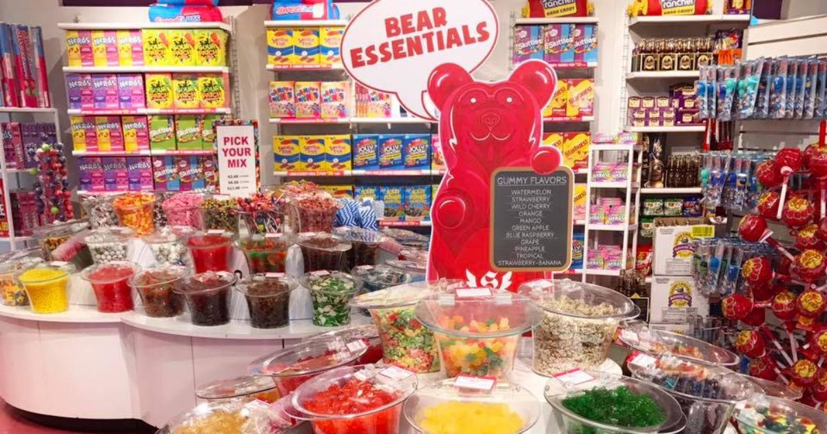 It'Sugar candy store gummy Bear Essentials