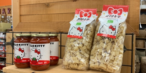 Hello Kitty Pasta and Sauce – Now Available at World Market
