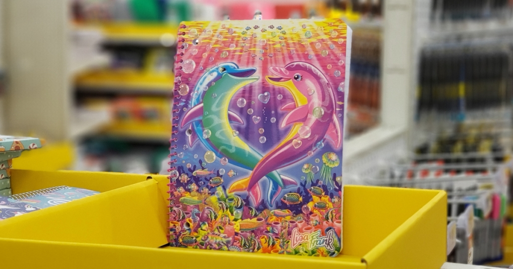 Lisa Frank notebook at Target