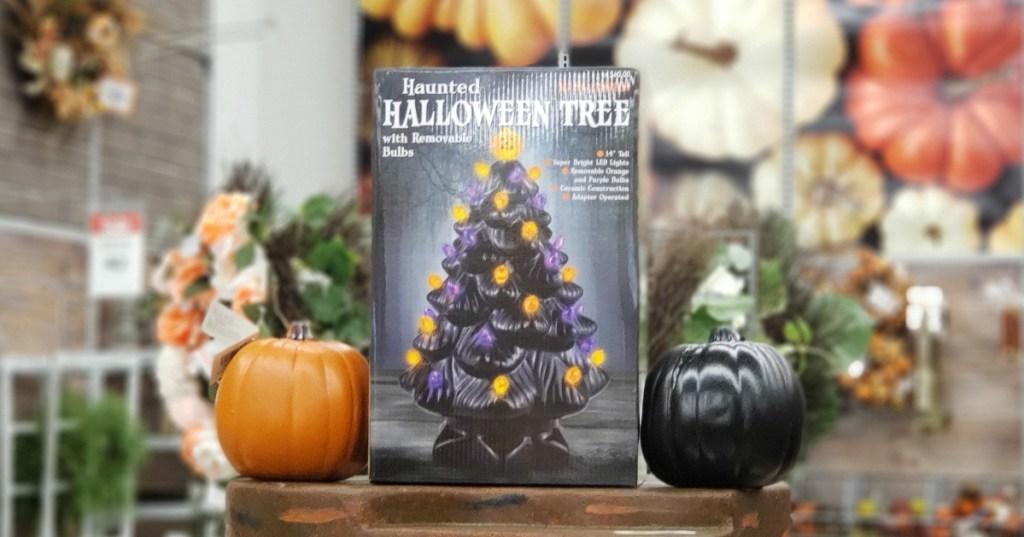 Michaels haunted Halloween tree