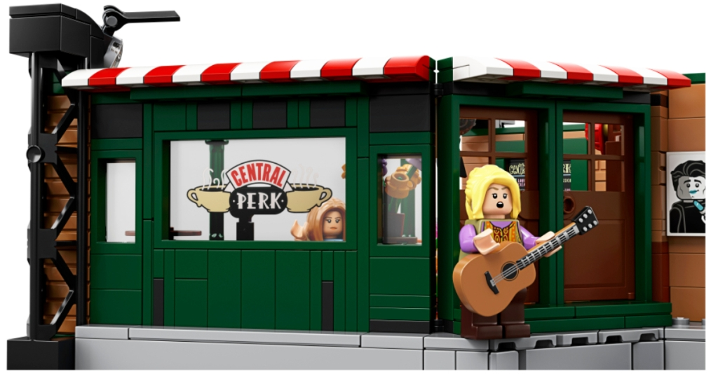 Lego Central Perk with Lego Phoebe