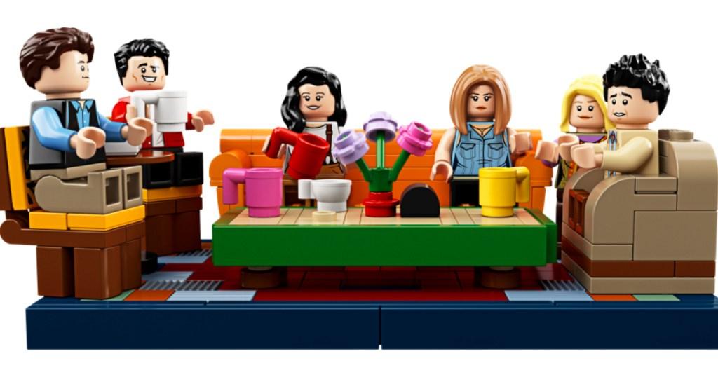 Friends TV LEGO minifigures