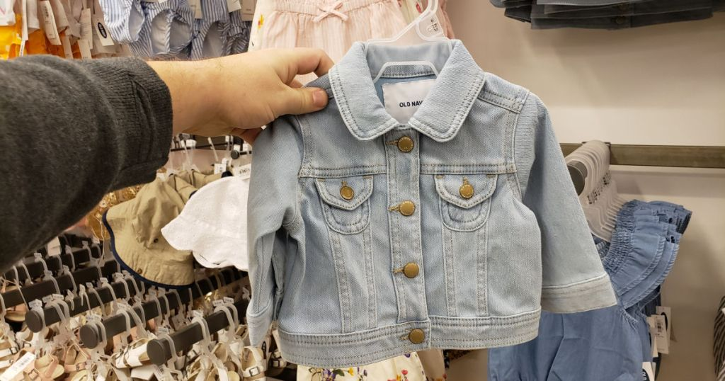 24/7 Jean Jacket For Baby at old navy