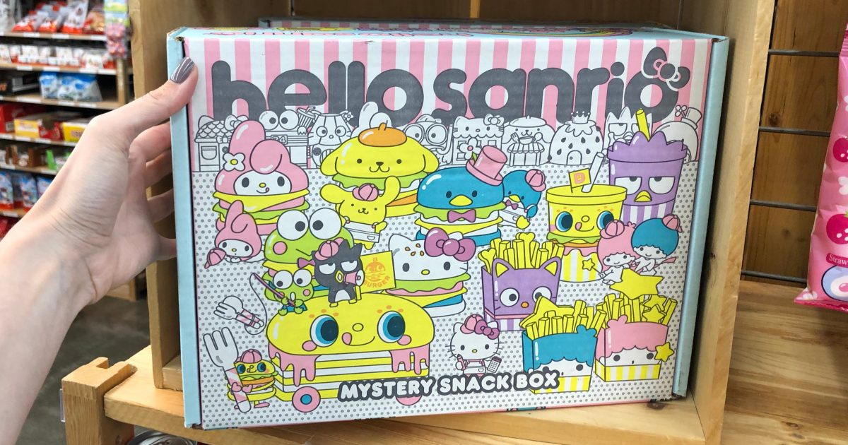 Hello Sanrio mystery snack box at World Market