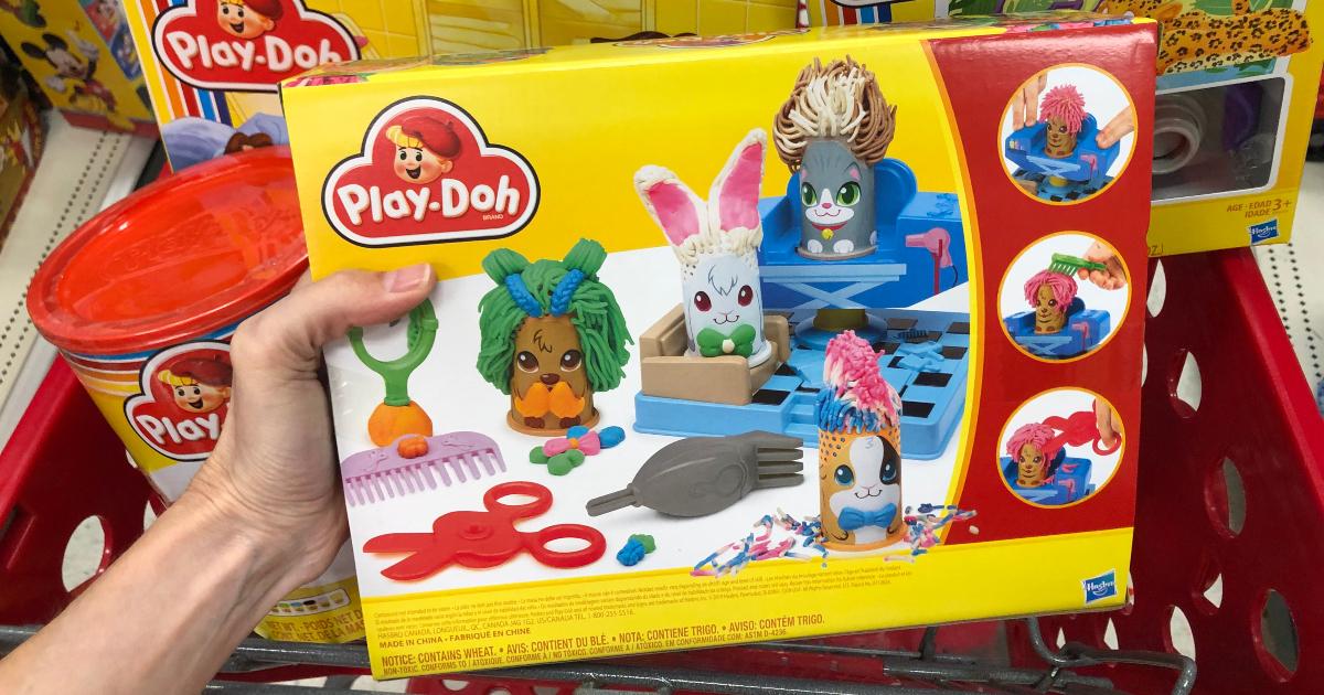 Play-Doh classic fuzzy pet salon