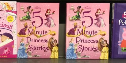 Disney 5 Minute Princess Stories Hardcover Book Just $6 at Amazon
