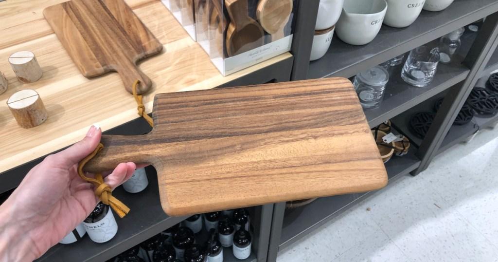 Hearth & Hand with Magnolia Acacia Cutting Board
