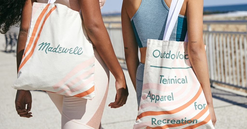 Madewell tote bags