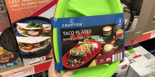 4-Pack Taco Plates Only $4.99 at ALDI | Perfect for Taco Tuesday