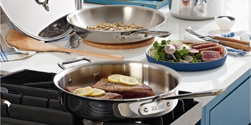 All-Clad 7-Piece Cookware Set Only $299.99 Shipped on Macys.com (Regularly $840)