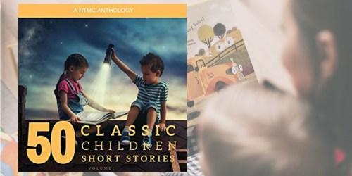 50 Classic Children's Short Stories Audible Audiobook Just 82¢