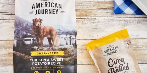 Buy One, Get One FREE American Journey Dog & Cat Food or Treats at Chewy.com