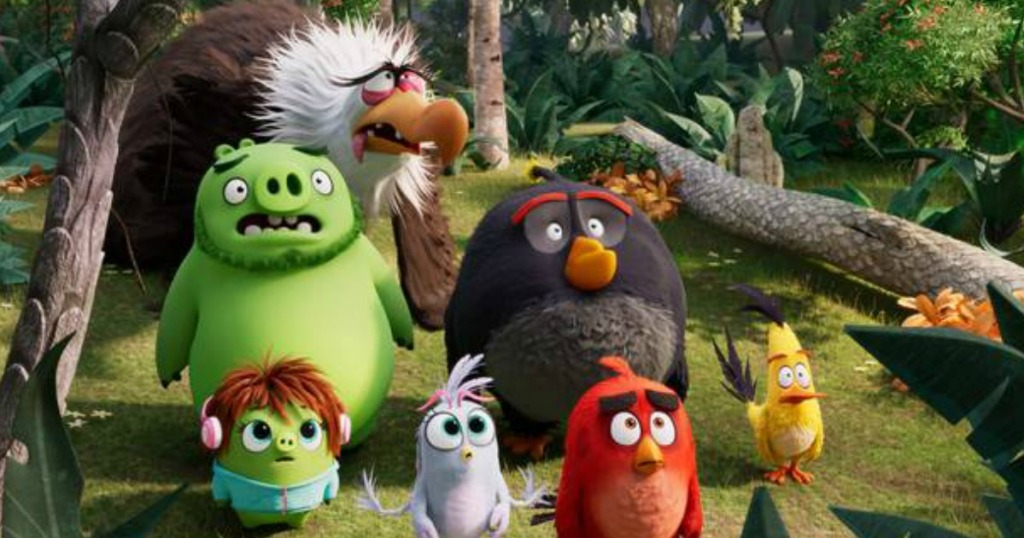 screen shot from angry birds 2 movie