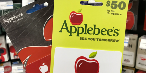 FREE $10 Bonus eGift Card w/ $50 Applebee's Gift Card Purchase