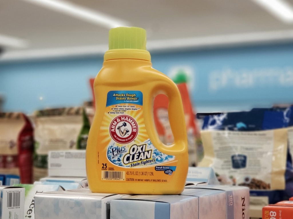 Arm & Hammer Laundry Detergent at Walgreens