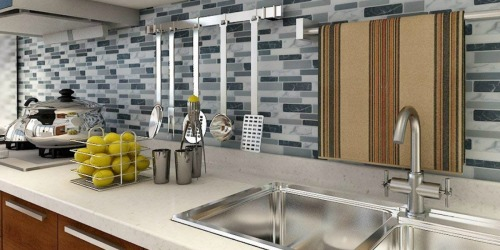 Up to 35% Off Art3D Peel & Stick Backsplash Tiles at Home Depot