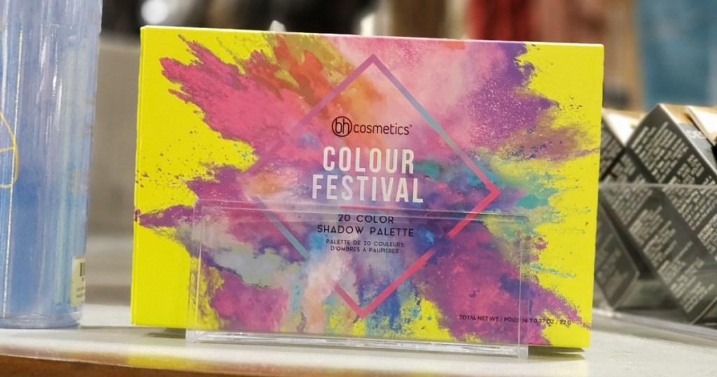 bh colour festival eye shadow palette