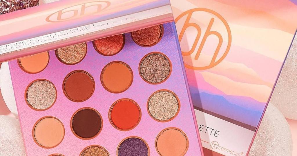 bh eye shadow palette
