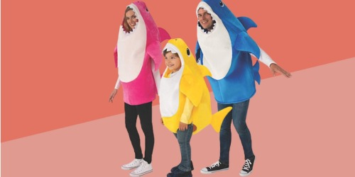 Baby Shark Costumes for the Family as Low as $20.27 on Amazon | Includes Sound Chip w/ Song