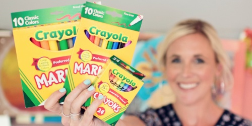 Current Back to School Deals | Crayola, Elmer's, Paper-Mate & More