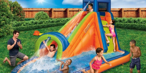 This Banzai Water Park is $225 Off AND Inflates in Less Than 2 Minutes