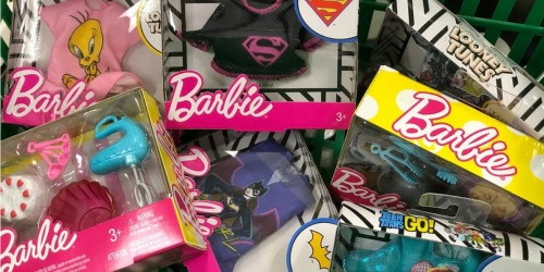 Barbie Baking Playset Just $1 at Dollar Tree | Super Heros, Looney Tunes, & More