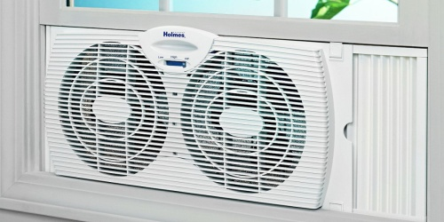 Holmes Basic Window Fan Only $15 (Regularly $30)