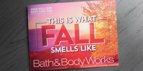 New Bath & Body Works Coupon Booklet w/ FREE Item Offers & More | Check Your Mailbox